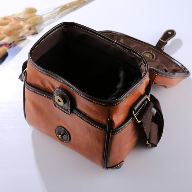 Autumn Vintage Camera Sling Bag