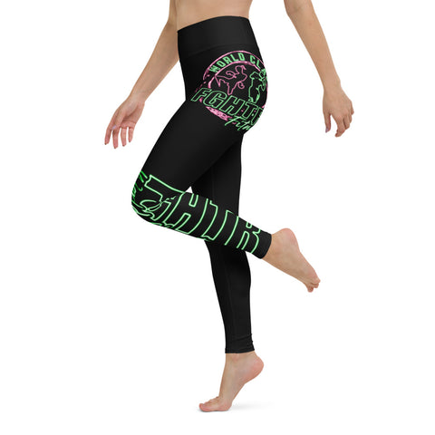 FGHTR Neon Yoga Leggings