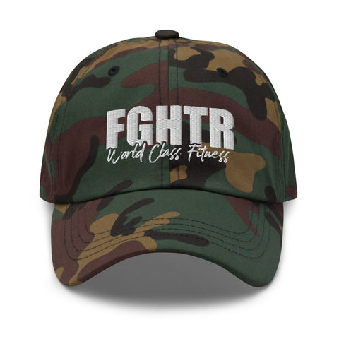 "NEW! FGHTR Fitness ""Dad hat"" (Unisex- Multiple Colors)"