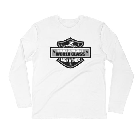 Allstar Long Sleeve Fitted Crew Adult Shirt available in 3 colors