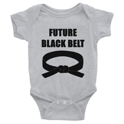 Future Black Belt Infant Bodysuit - Multiple Colors Available