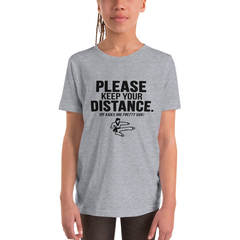 "NEW! ""Keeping Distance"" Youth T-Shirt"
