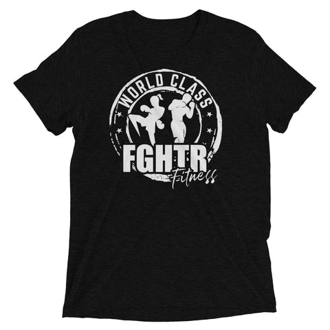NEW! FGHTR Black Tri-Blend T-shirt (Unisex)
