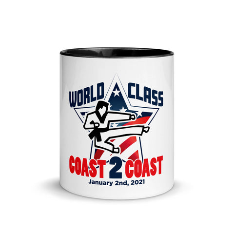 Coast to Coast - Mug with Black Inside