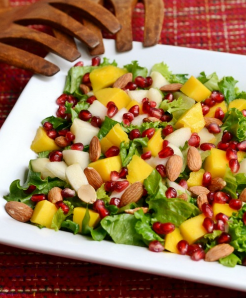 Mango and Pear salad