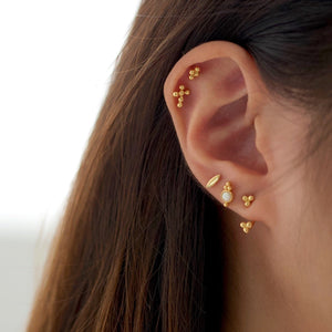 Bubble Quad Studs