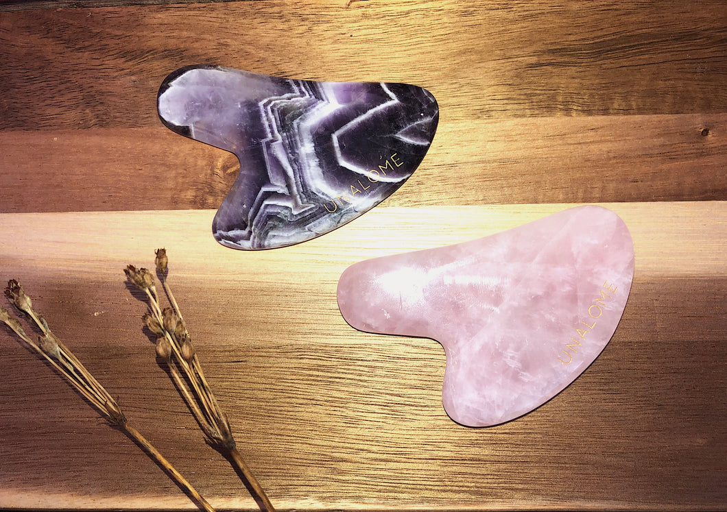 Gua Sha - Rose Quartz