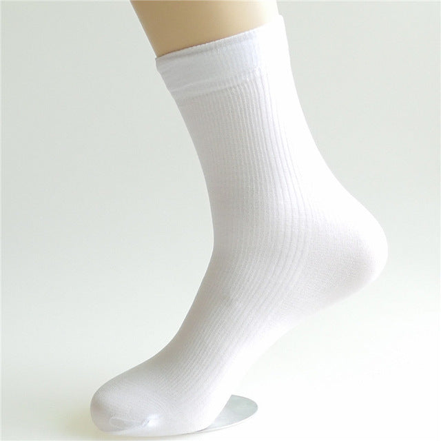 Men's Bamboo Silk Thin Cool Sock's for Business 10 Pair - Delloi
