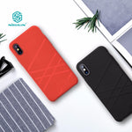 Luxury iPhone x Funda 5.8 inch Liquid thin silicone protective shell - Delloi