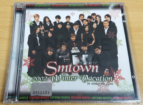 Smtown Winter Vacation 2002 Promo Only Merch Seeker