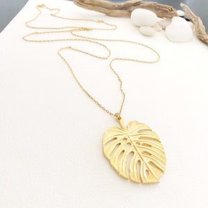 Palmier Leaf Necklace