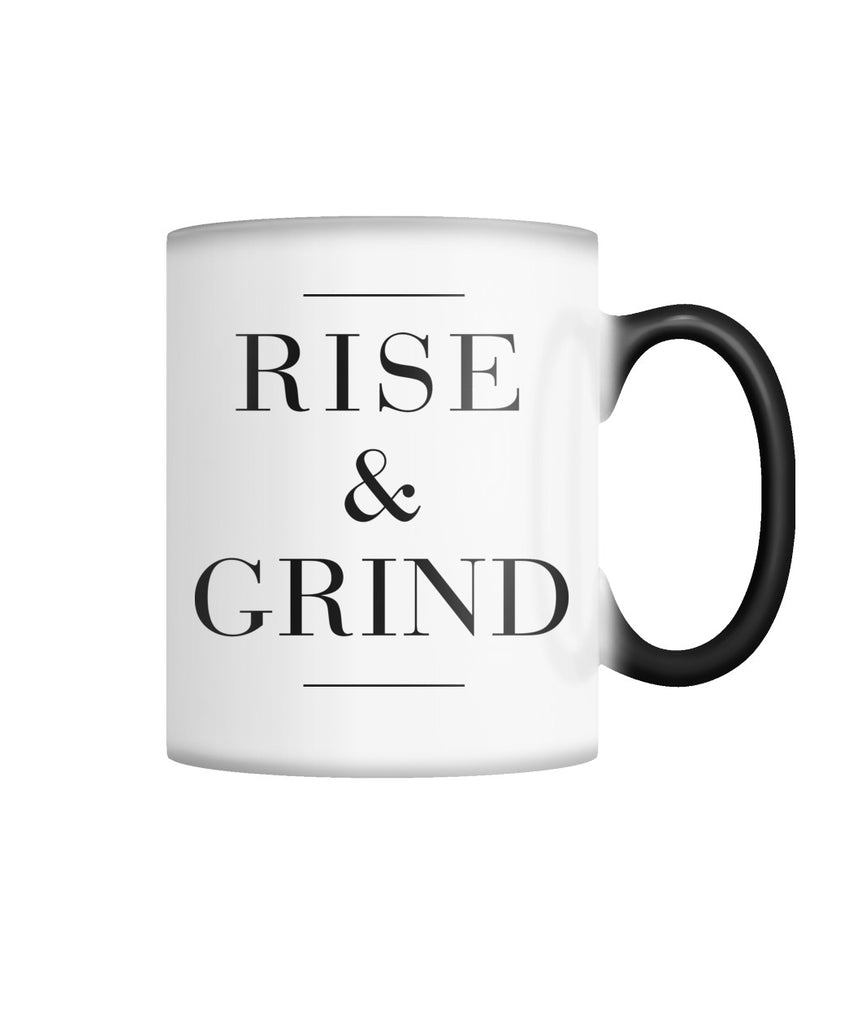Rise And Grind Color Changing Mug