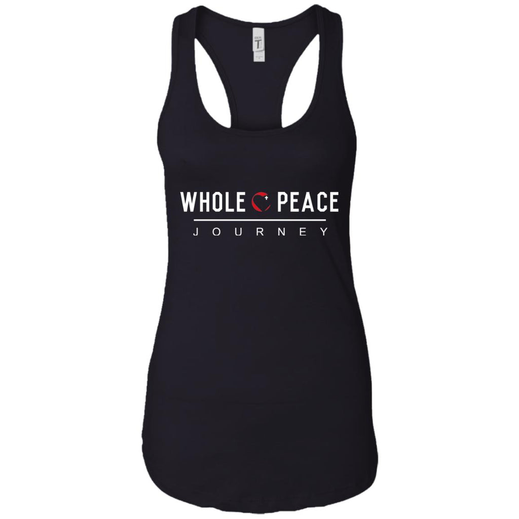 Whole Peace Journey Ladies Ideal Racerback Tank