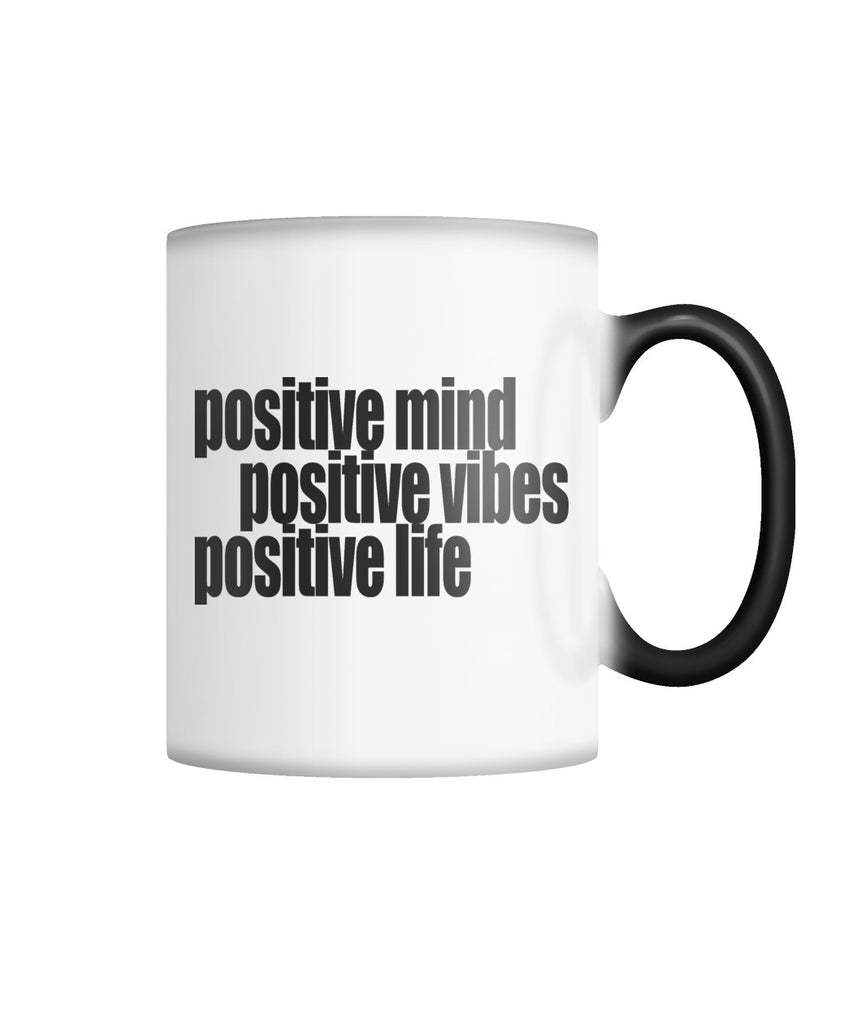 Positive Life Color Changing Mug Color Changing Mug