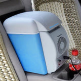 Mini 7.5L Car Fridge Portable 12V Auto Cooler Freezer Heat Warming Refrigerator Quality Multi-Function ABS for Travel Camping