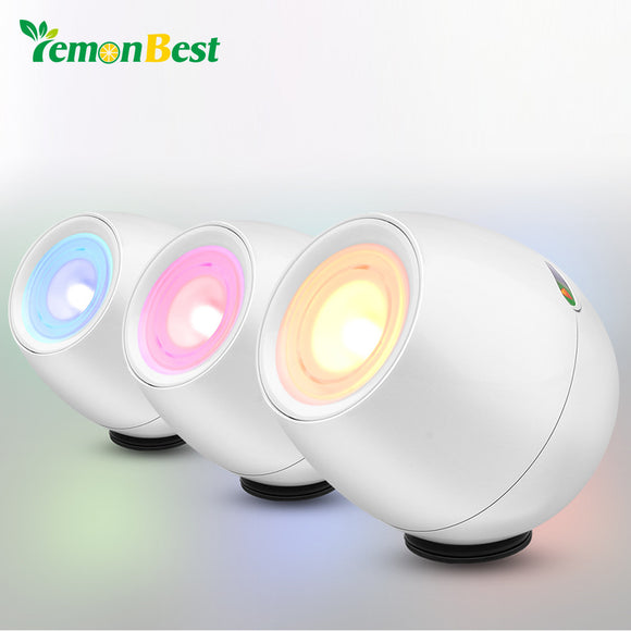 Lemonbest USB Powered Colorful night light 256 living Color With Rolling Bar LED Mood Lamp Touch Control for Bedroom Bedlamp Car