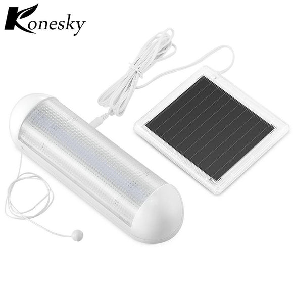 5-LED Solar Powered Shed Light Waterproof Rechargeable Outdoor