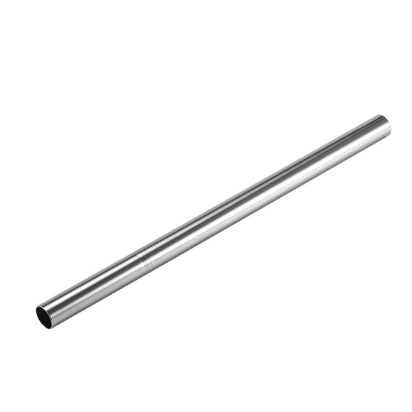 1Pcs Metal Drinking Straw Stainless Steel Straight Bent Straw