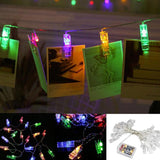 Photo Clip Light String Remote Control 8 Function LED String USB/Battery LED lamp 20/30/40LED Garland lights Wedding Christmas
