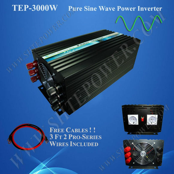 3000 watt pure sine wave inverter 24v 220v power inverter