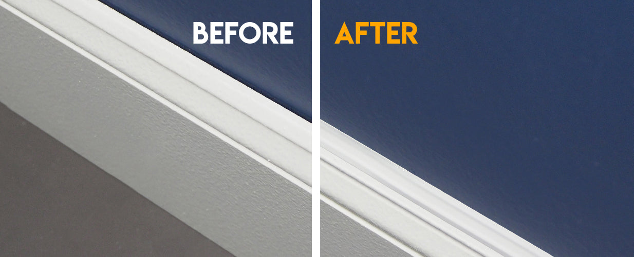 Filling Baseboard Trim Gaps