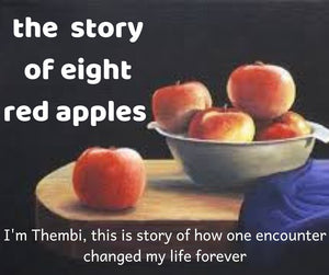 The story of the eight red apples