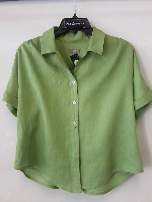 Apple Green Summer Shirt J-Jill