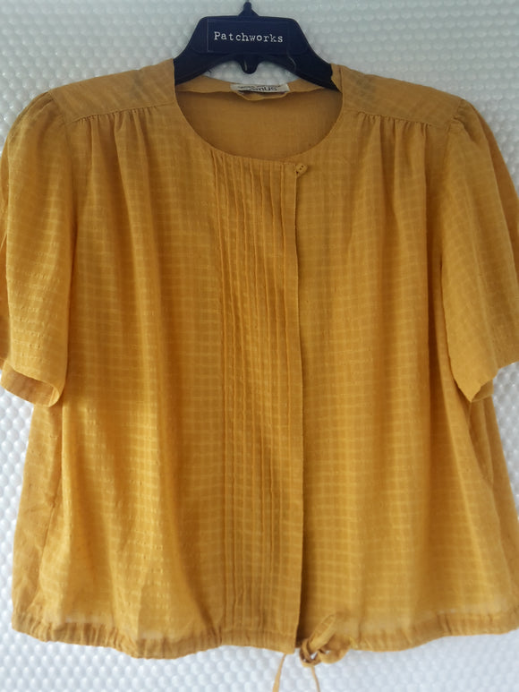 Remes Mustard Blouse