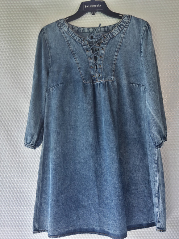 Boohoo Casual Denim Dress