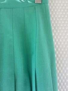 Katies Green Pleated Skirt