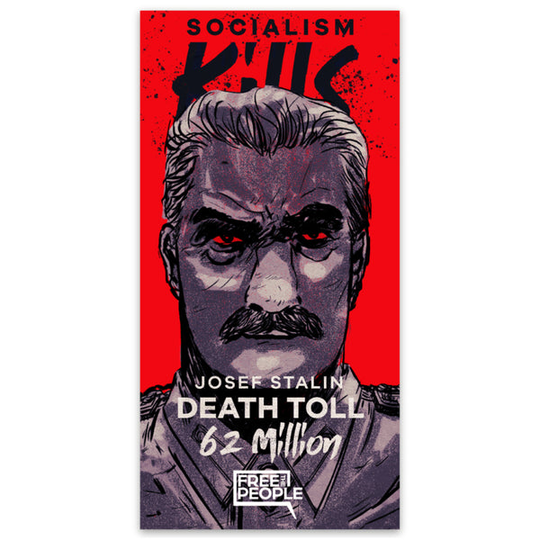 Josef Stalin: Socialism Kills Sticker