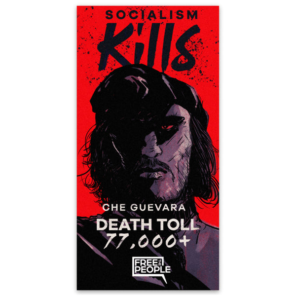 Che Guevara: Socialism Kills Sticker
