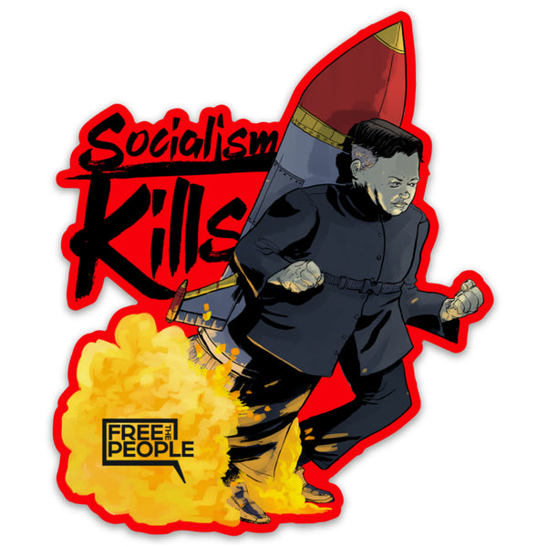 "Kim Jong Un ""Rocket Man"" Sticker"