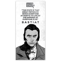 Frédéric Bastiat Sticker