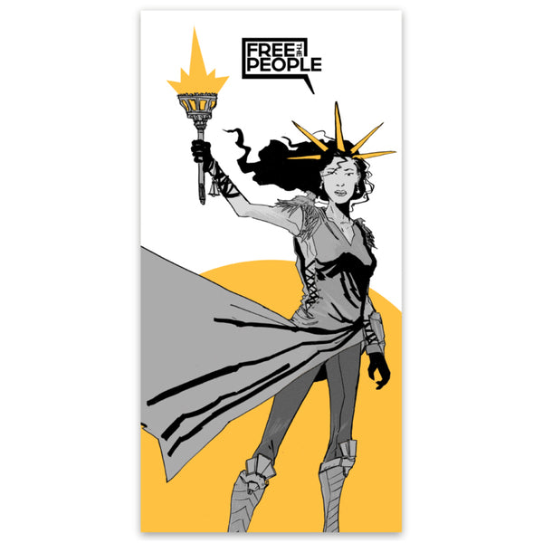 Liberty Hero Sticker