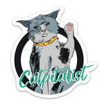 Catpitalist Sticker