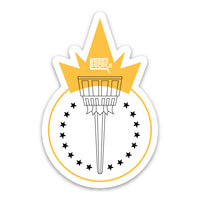 Freedom Torch Sticker