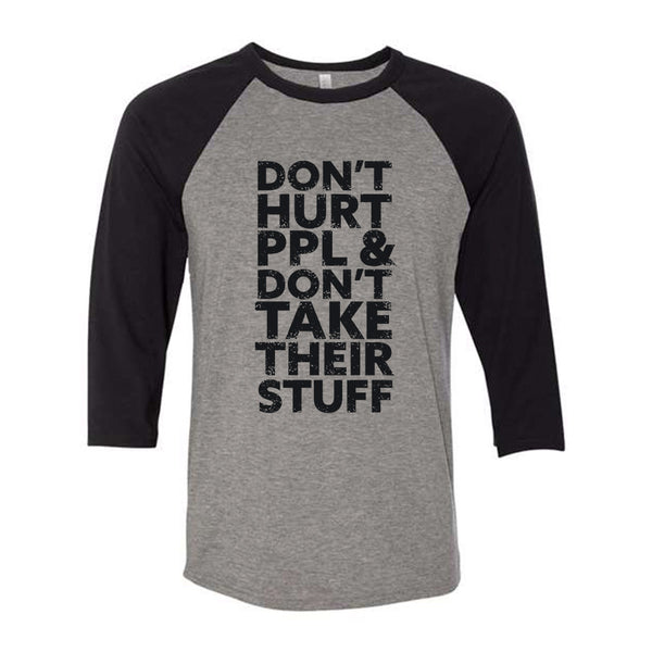 Don't Hurt People | Baseball Shirt