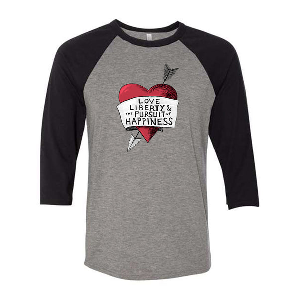 Love, Liberty | Baseball Shirt