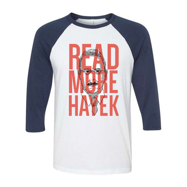 Read More Hayek | Baseball Shirt