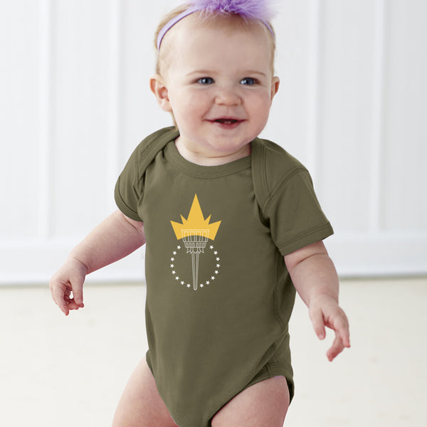 Freedom Torch | Baby Onesie