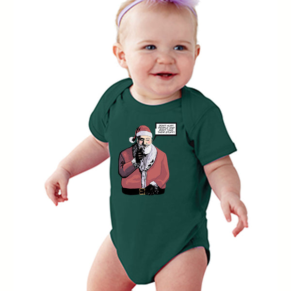 Santa Says Don't Hurt People | Baby Onesie