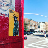 Guerrilla Girl Sticker