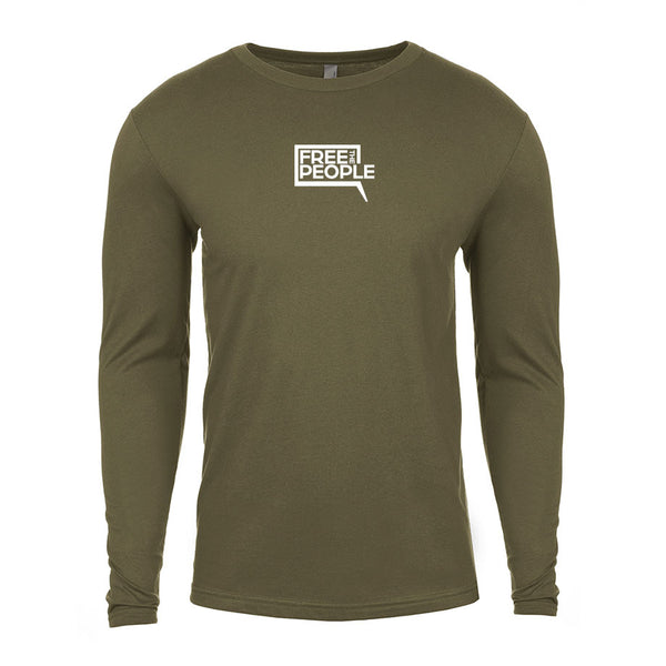 Free the People Logo | Men's Long Sleeve Shirt