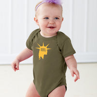 Liberty Head | Baby Onesie