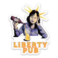 Liberty Pub Sticker