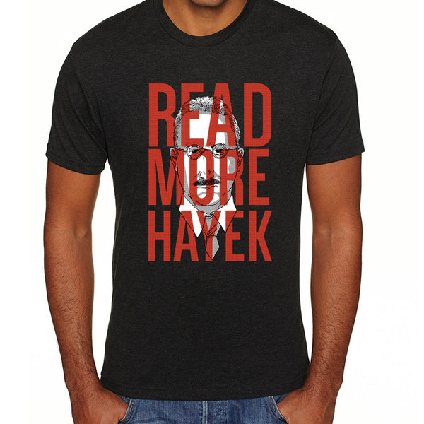 Read More Hayek | Men's Tri-blend Shirt