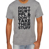 Don't Hurt People | Men's Tri-blend Shirt