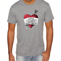 Love, Liberty | Men's Shirt
