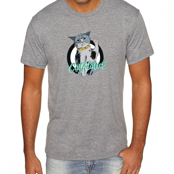 Catpitalist | Men's Tri-blend Shirt